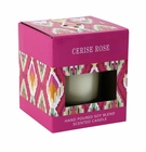 Cerise Rose Scented Candle