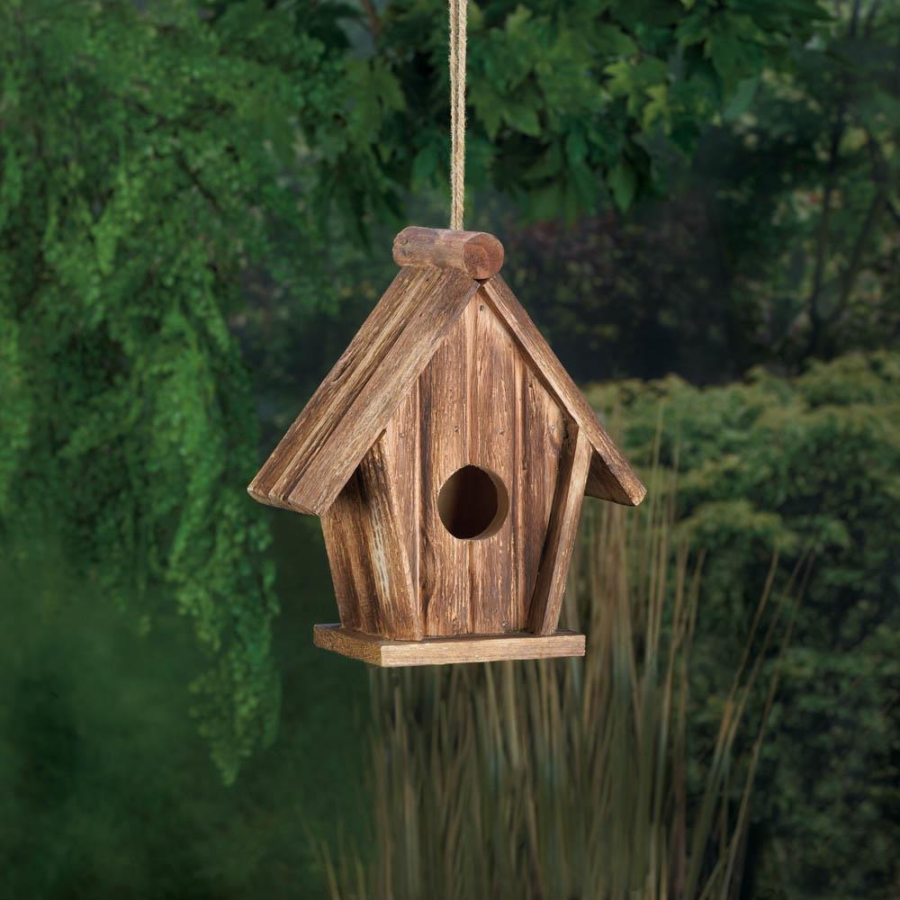 Rustic Home Decor Wholesale: Classic Rustic Wood Birdhouse Wholesale At Koehler Home Decor