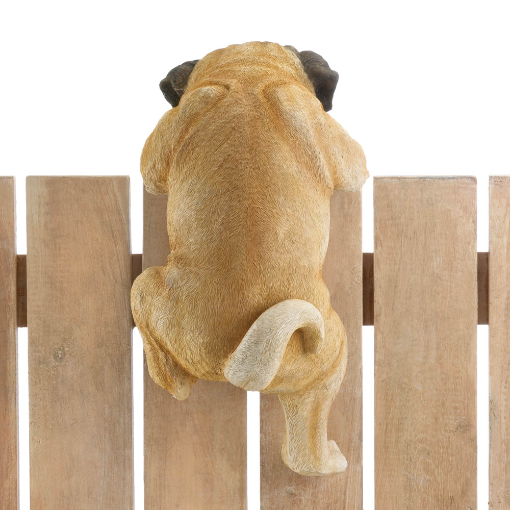 "climbing pug ""daisy"" decor wholesale at koehler home decor"