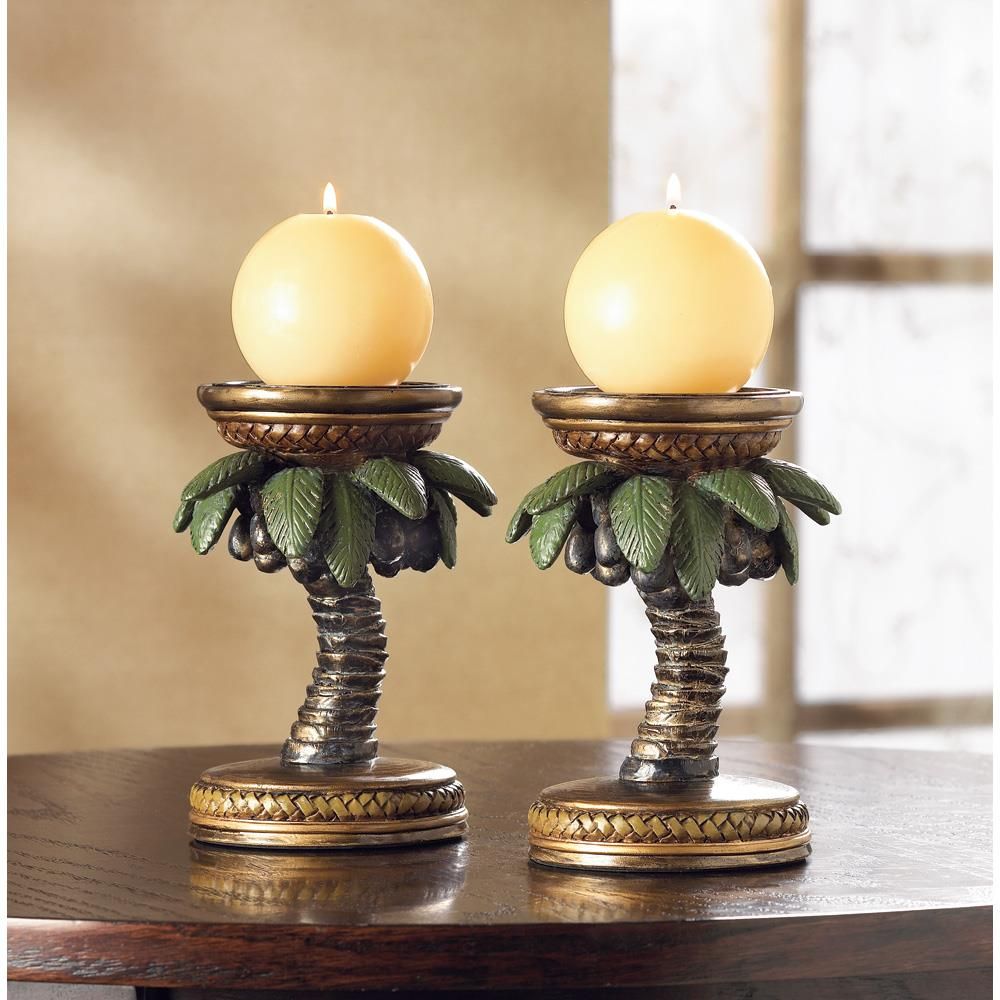 Coconut Tree Candle Holders Wholesale at Koehler Home Decor
