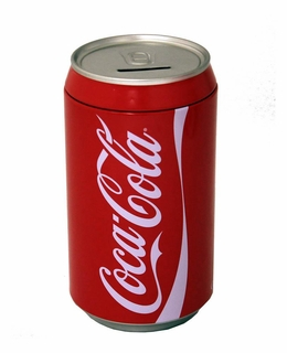 Coke Can Money Bank