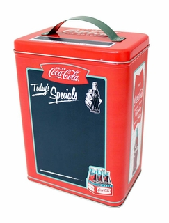 Coke Tall Tin Chalkboard