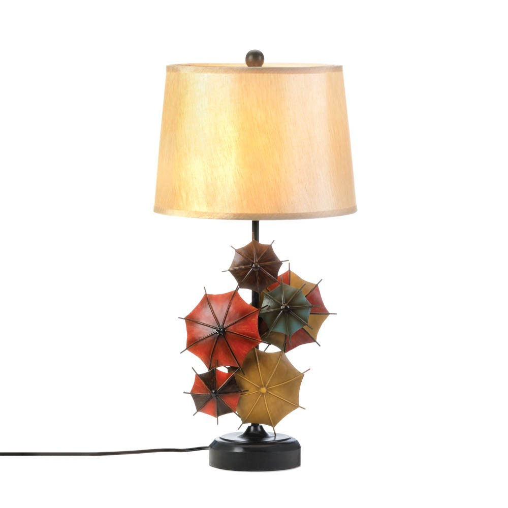 wholesale umbrella now available at wholesale central  items    - colorful umbrella table lamp