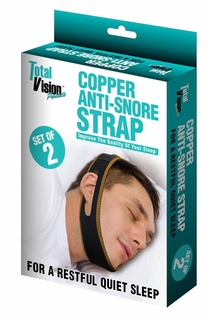 Copper Anti-Snore Strap Set