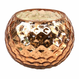 Copper Honeycomb Scented Candle