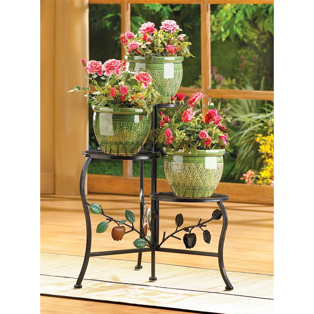 Country apple plant stand wholesale at koehler home decor for Koehler home decor