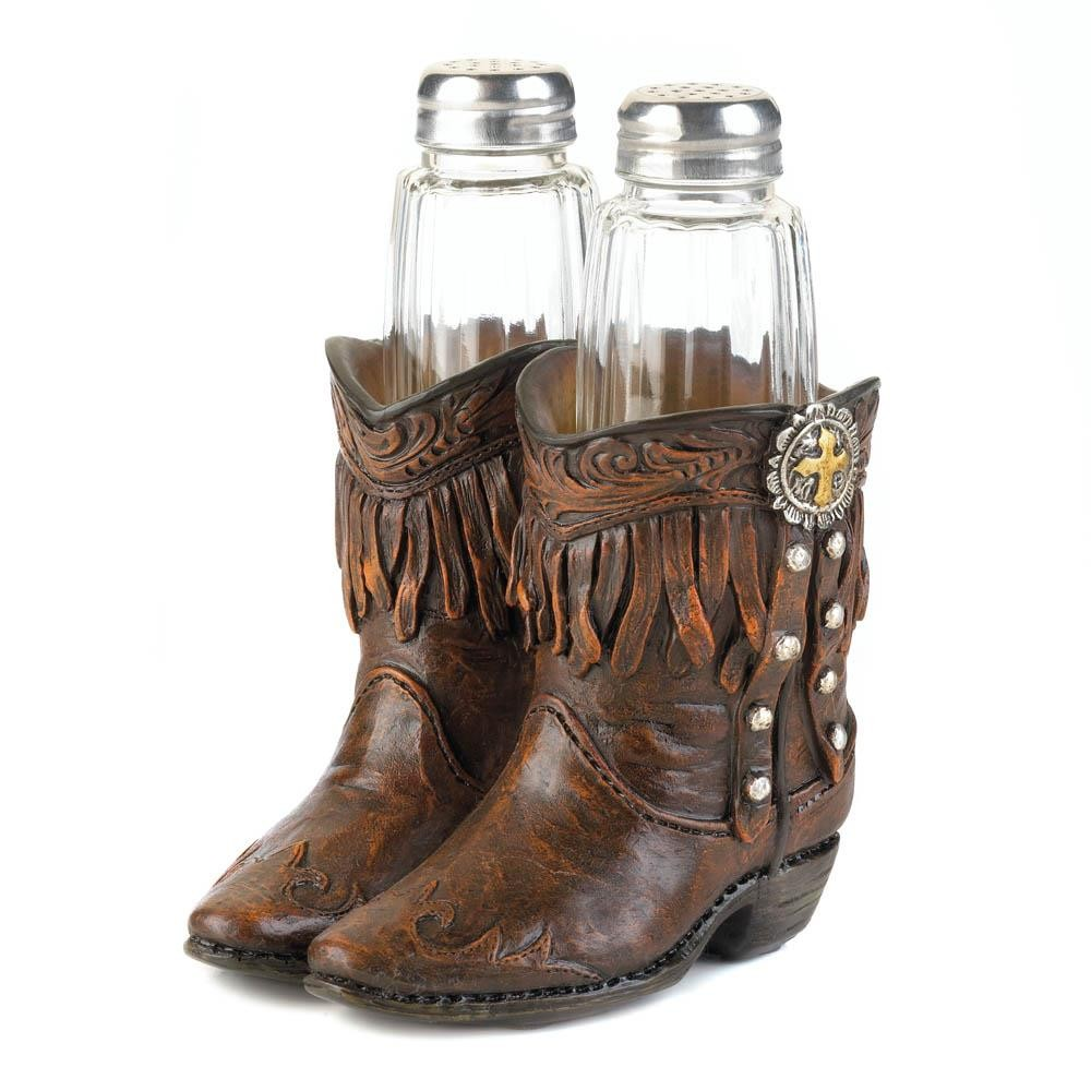 Cowboy Boots Shaker Set Wholesale At Koehler Home Decor