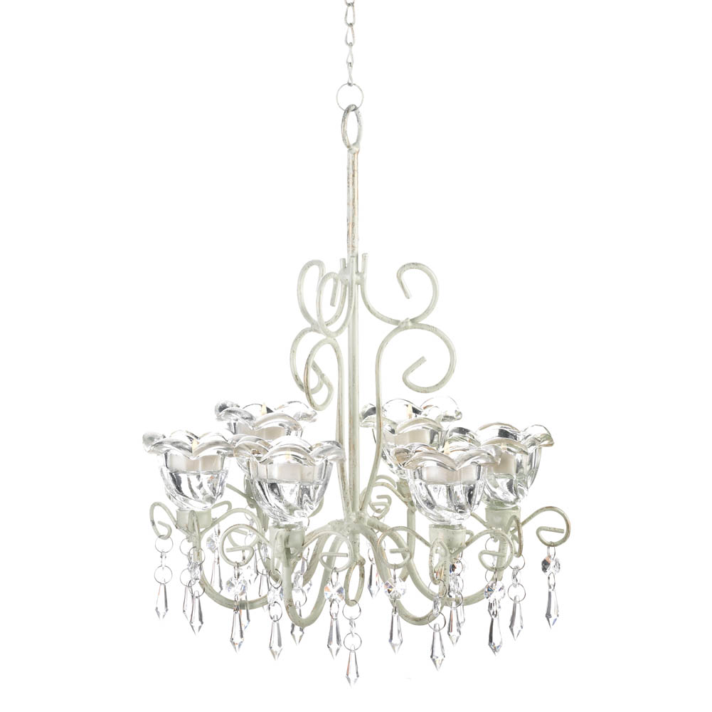 Crystal blooms candle chandelier wholesale at koehler home decor crystal blooms candle chandelier aloadofball Image collections