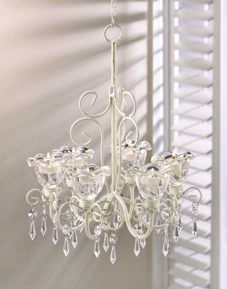 Crystal blooms candle chandelier wholesale at koehler home Crystal candle chandelier