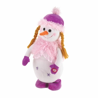 Plush Dancing Snowgirl