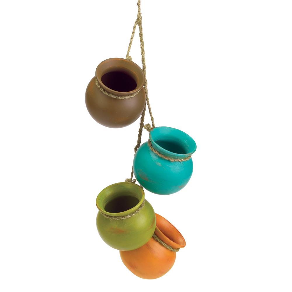 Wholesale Home Decor: Dangling Mini Pots Wholesale At Koehler Home Decor