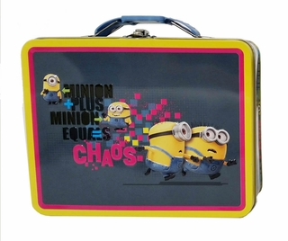 Despicable Me Minion Chaos Tin Lunch Box