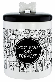 Did You Say Treats? Pet Treats Jar