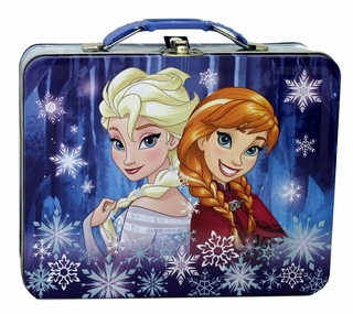 Disney Frozen Sisters Tin Lunch Box