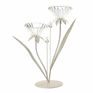 Double Posy Candle Holder