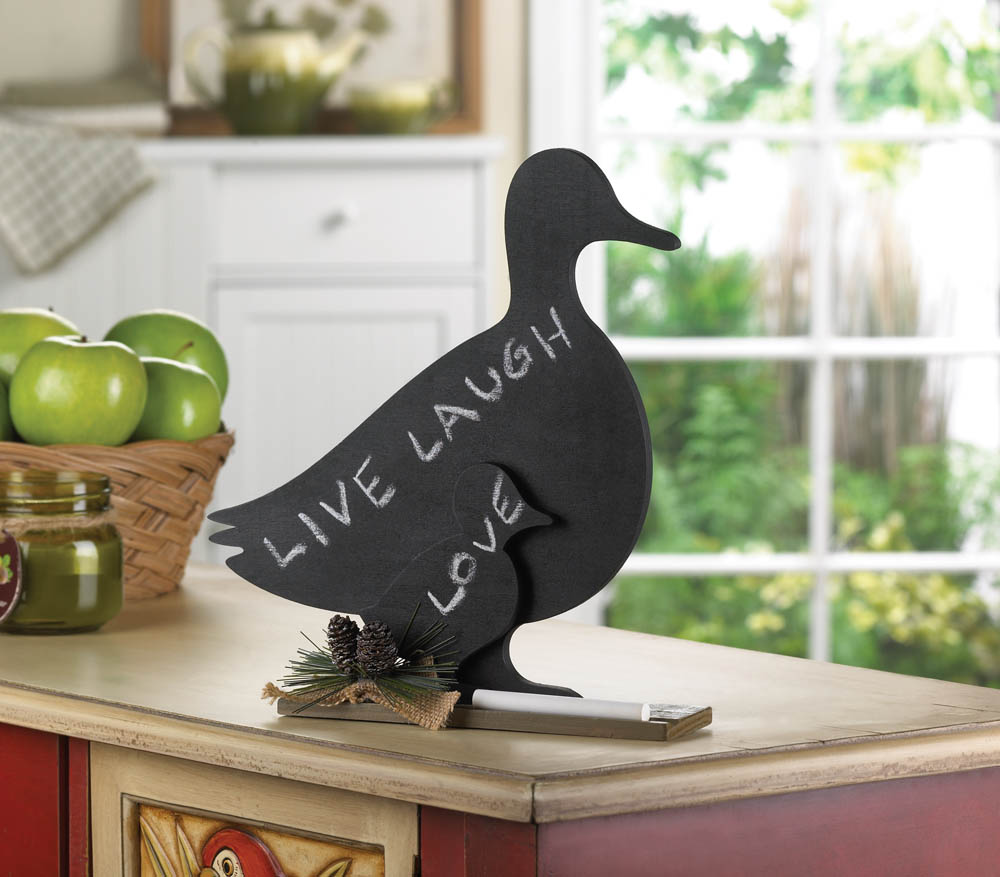 Duck family message board wholesale at koehler home decor for Koehler home decor