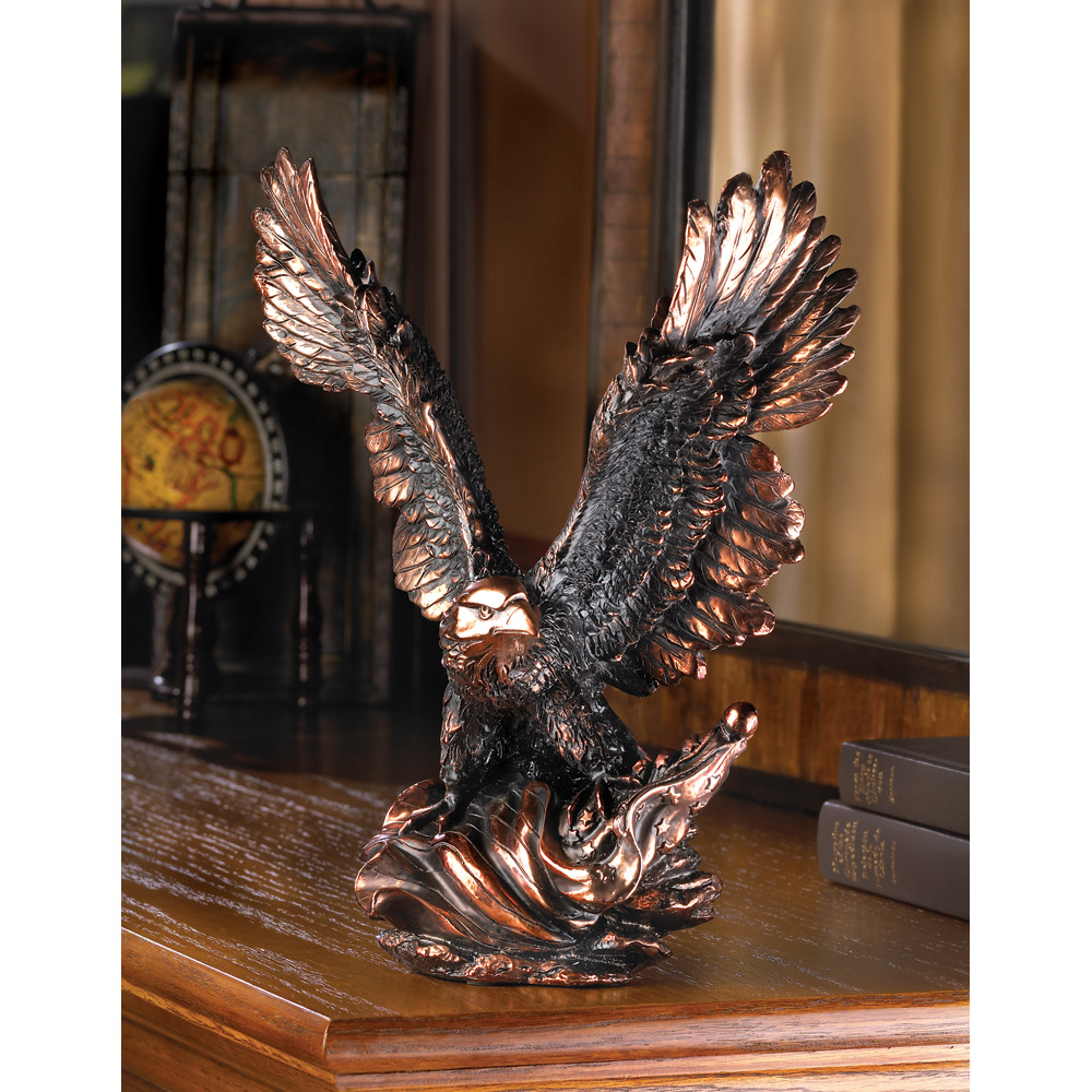 Eagle In Flight Statue Wholesale At Koehler Home Decor