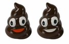 Emogee Poop Salt & Pepper Shaker Set