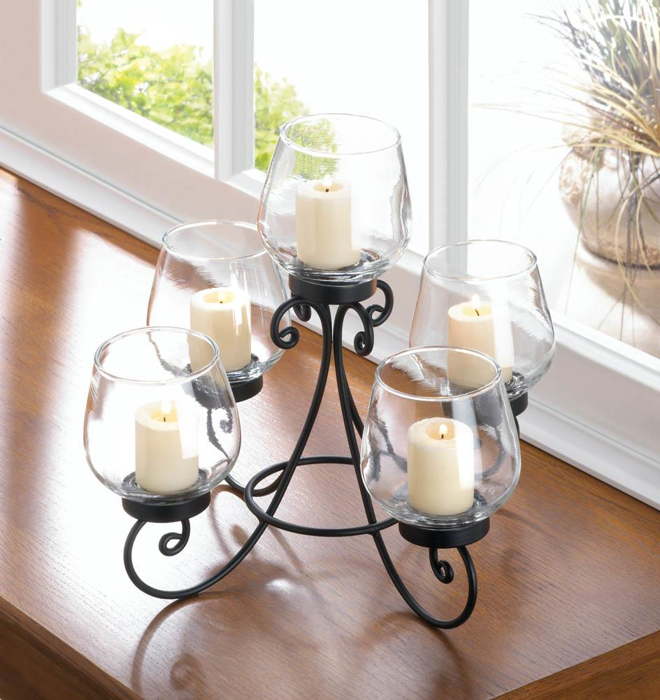 Enlightened candle centerpiece wholesale at koehler home decor for Koehler home decor