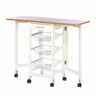 Extended Kitchen Table Trolley