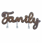 Family Sign Hooks