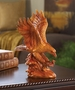 Faux Wooden Eagle Statue
