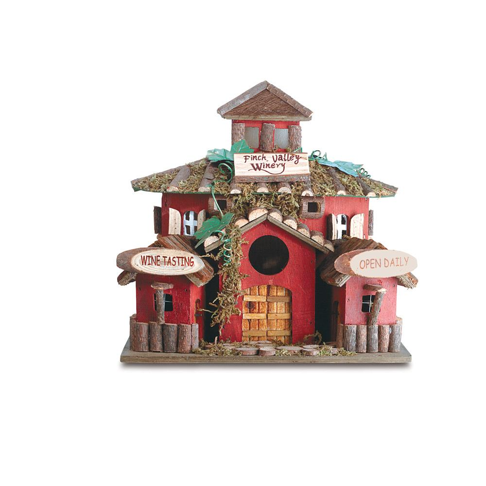 Finch Valley Winery Bird House Wholesale At Koehler Home Decor