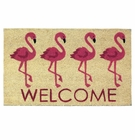 Flamingo Welcome Mat