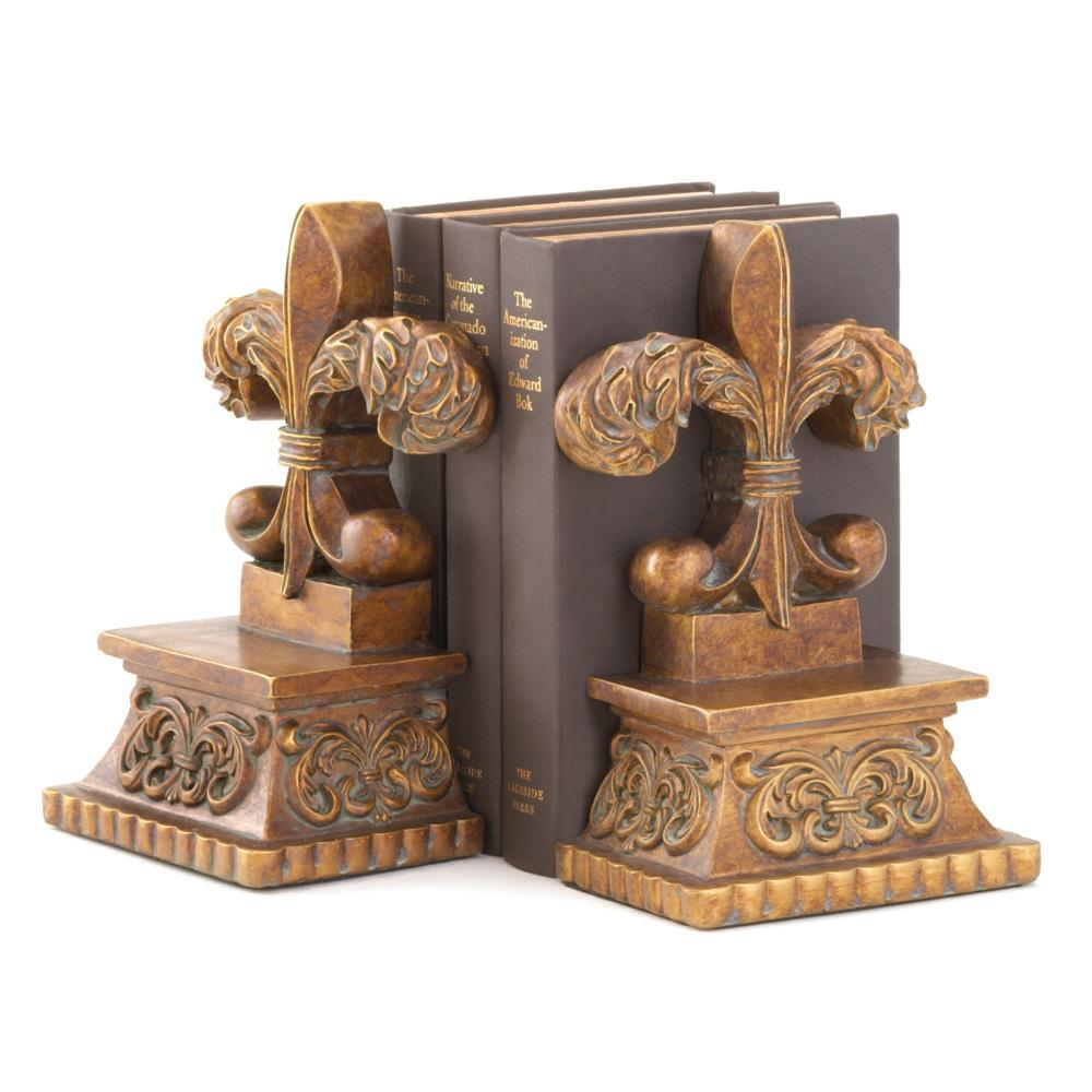 Fleur De Lis Bookends Wholesale At Koehler Home Decor