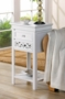 Fleur De Lis Side Table