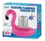 Floating Flamingo Coaster Set