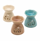 Floral Oil Warmers Trio