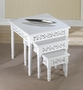 Floret Nesting Accent Tables Trio
