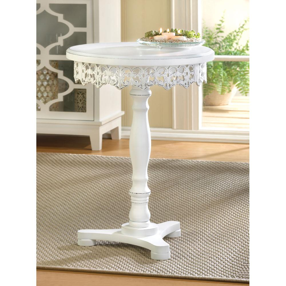Flourish pedestal table wholesale at koehler home decor at for Koehler home decor