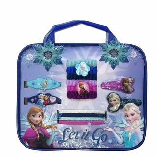 Frozen Bag W/Assorted Hair Accessories