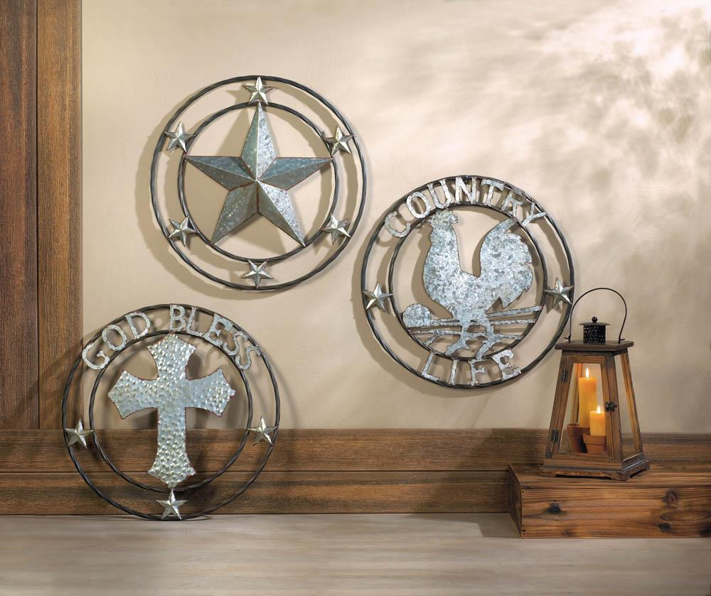 Galvanized Cross Wall Decor Galvanized Cross Wall Decor