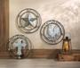 Galvanized Cross Wall Decor