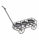 Garden Wagon Candle Holder