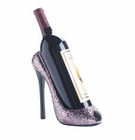 Glitter Shoe Wine Bottle Holder