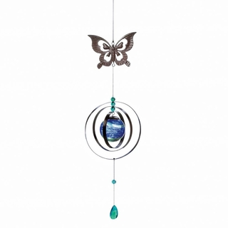Glow In The Dark Butterfly Wind Spinner