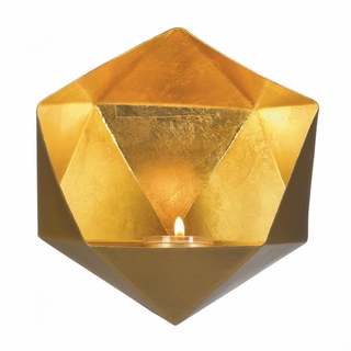 Gold Geometric Wall Sconce
