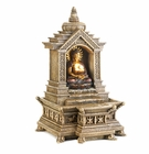 Golden Buddha Temple Fountain