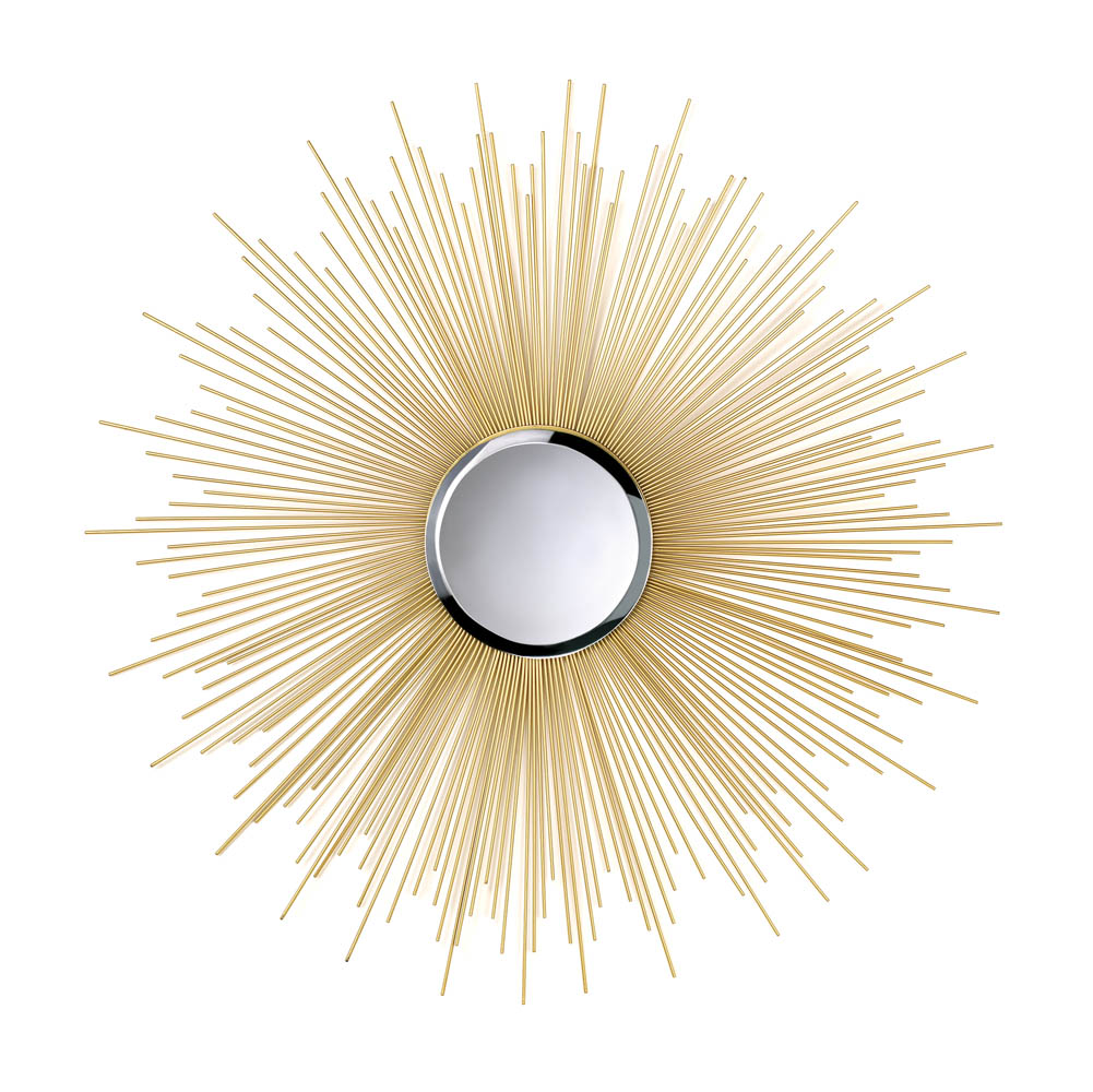 Golden Rays Sunburst Mirror Wholesale At Koehler Home Decor