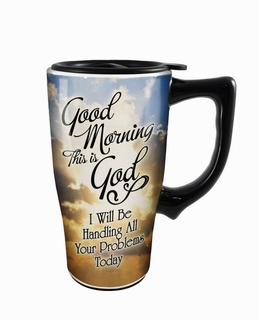 Good Morning Travel Mug
