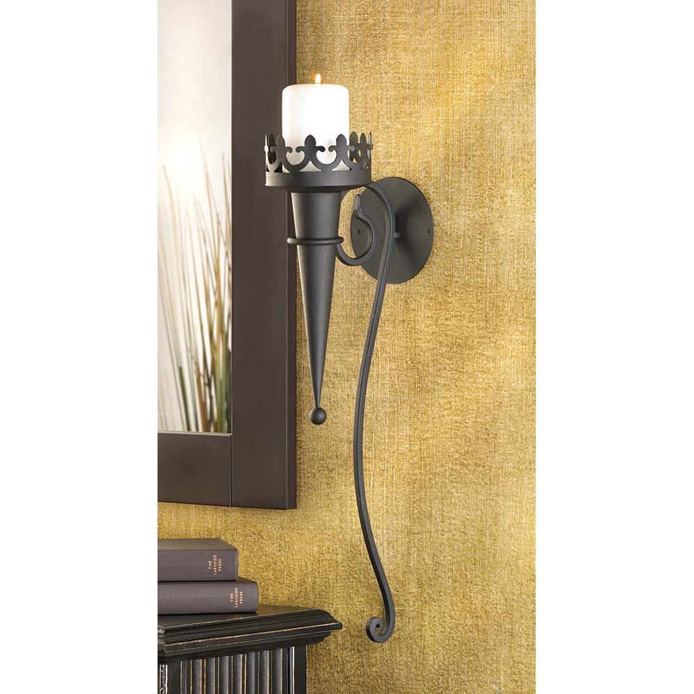 Gothic Candle Sconce Wholesale at Koehler Home Decor