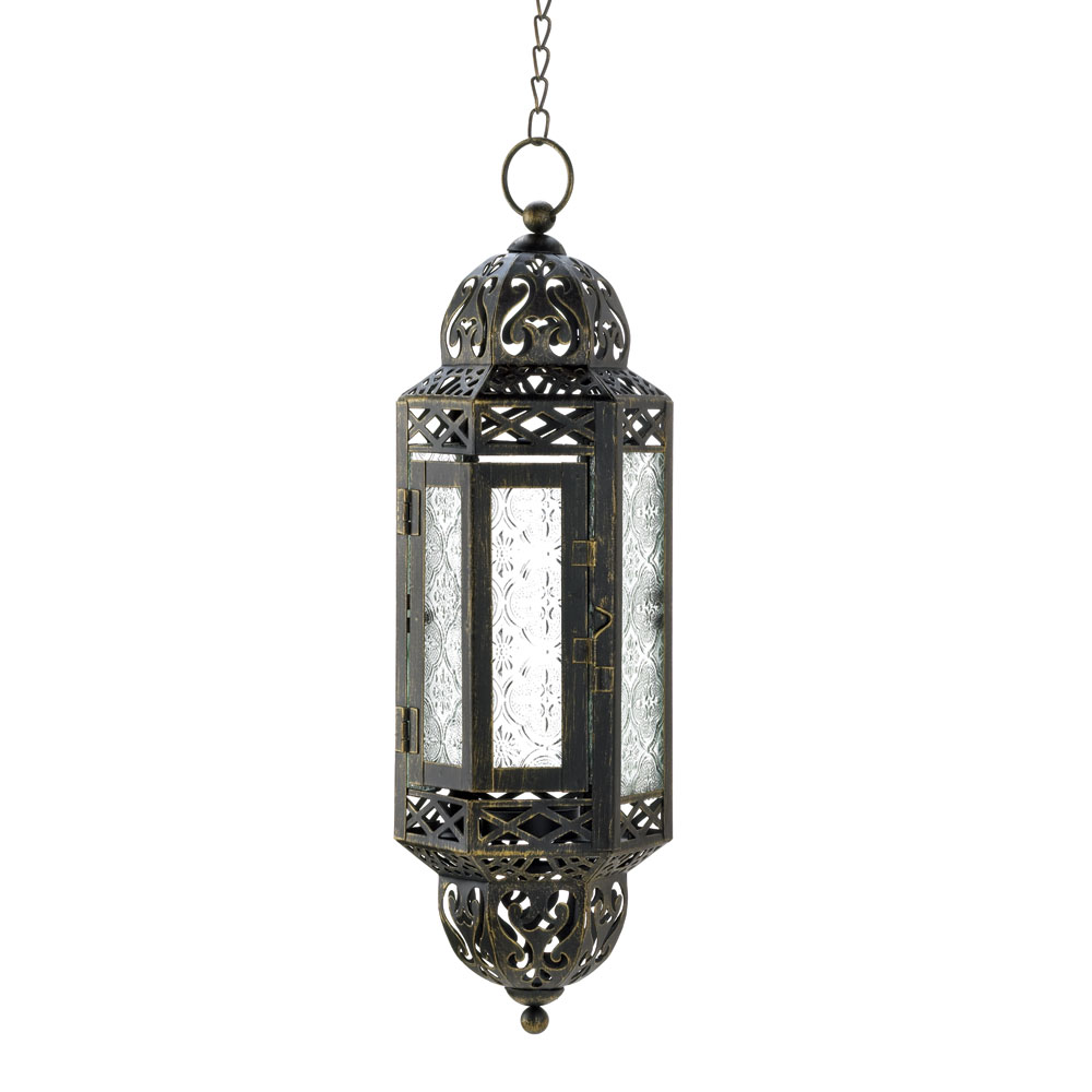 Hanging victorian candle lantern at koehler home decor for Cheap decorative items