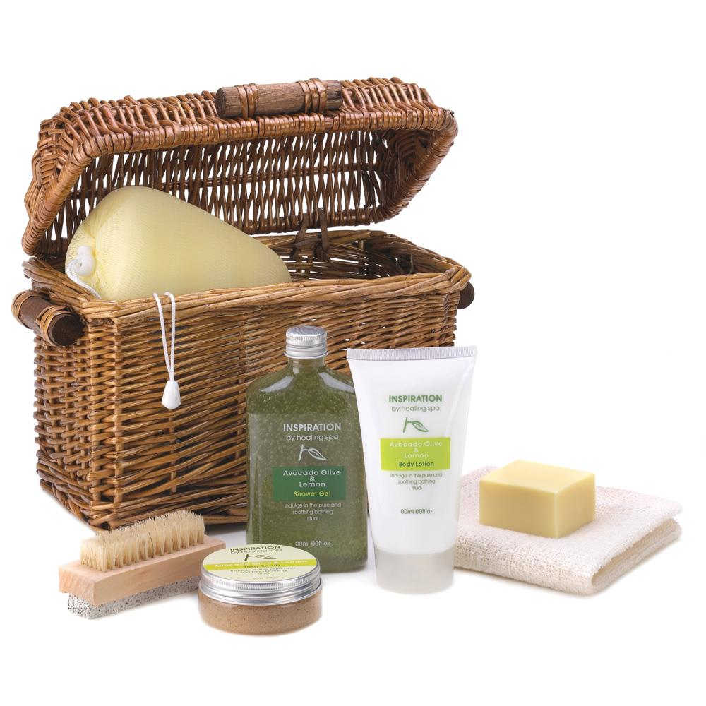Wholesale gift basket now available at wholesale central items 1 healing spa bath gift basket negle Gallery