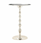 High Polish Hammered Top Table