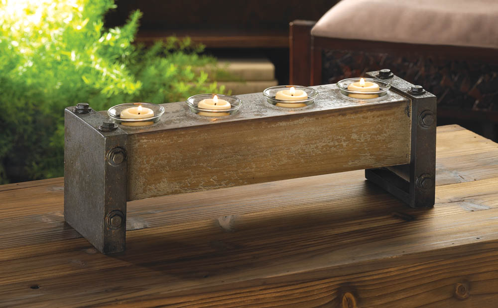Industrial Wooden Candle Holder Wholesale At Koehler Home Home Decorators Catalog Best Ideas of Home Decor and Design [homedecoratorscatalog.us]