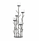 Iron Sprig Candle Holder